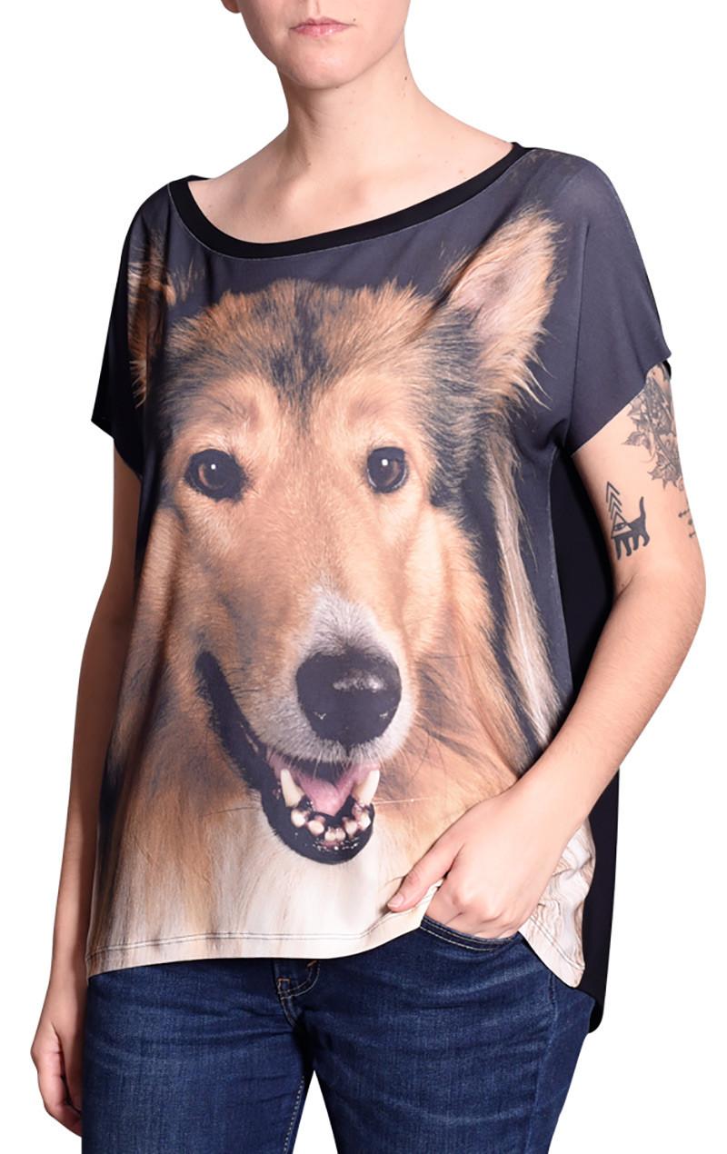 blusa-desenho-cachorro-collie-usenatureza