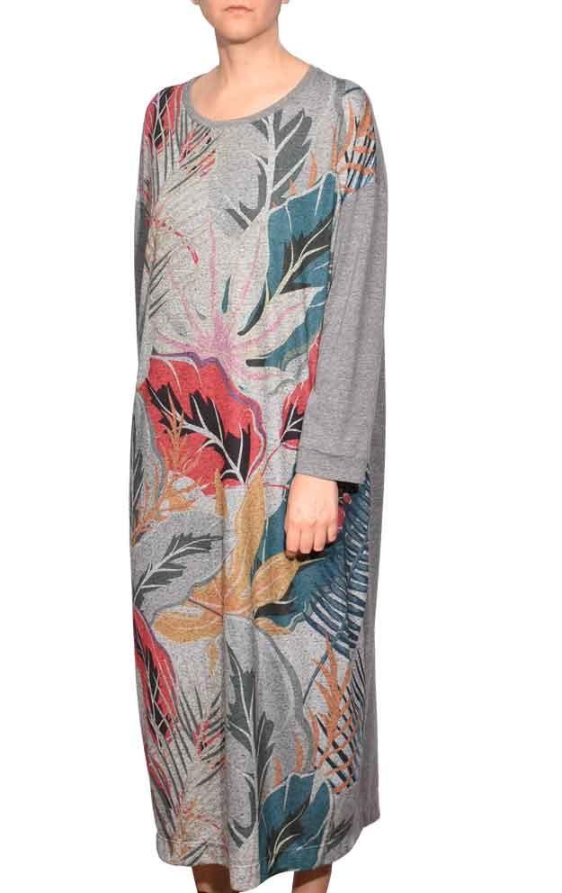 vestido-manga-longa-estampa-folhas-natureza