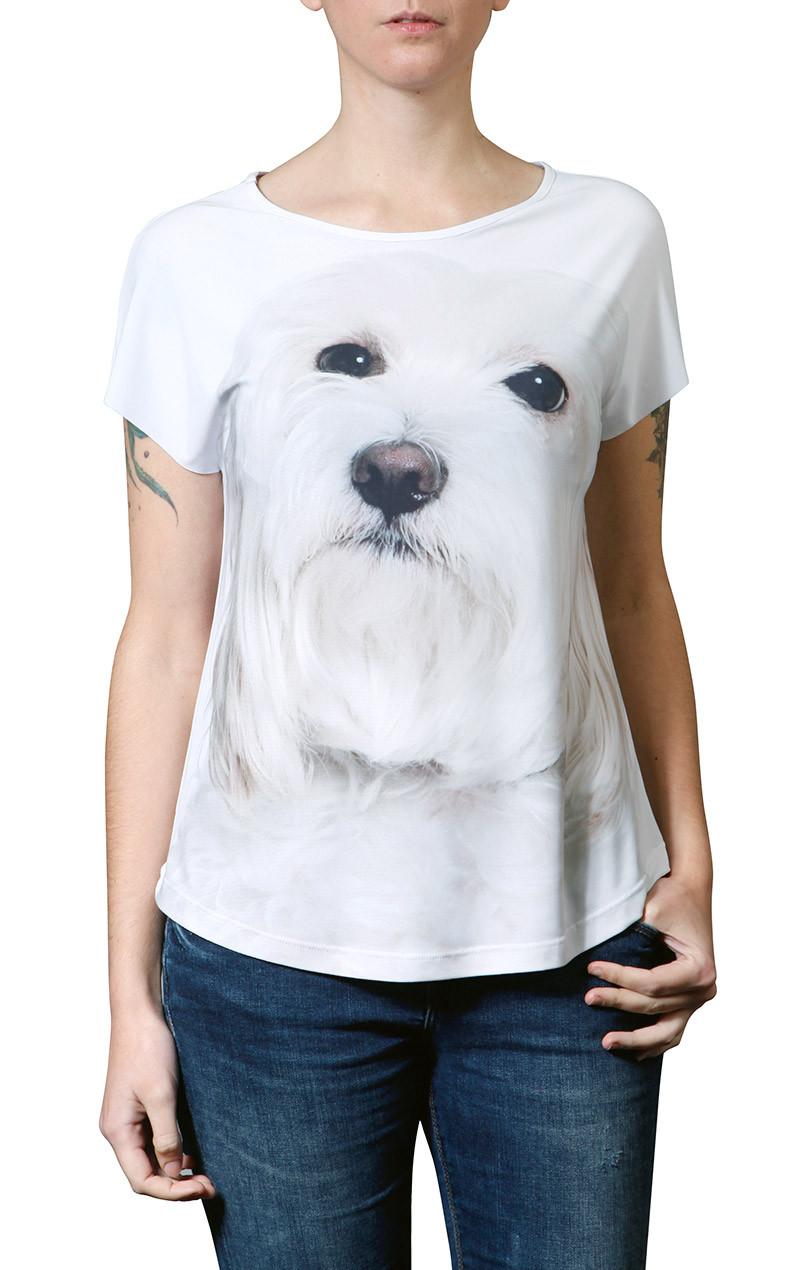camiseta-estampa-cachorro-raca-maltes-usenatureza