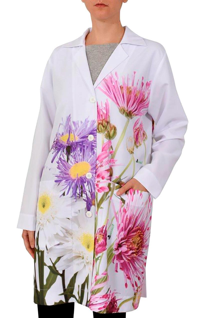 uniforme-jaleco-desenho-flores-usenatureza