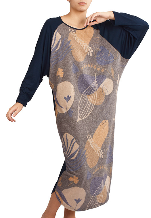 Vestido Raglã Arte em Gravura
