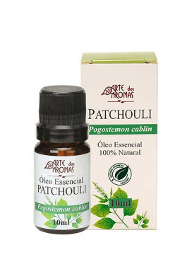 oleo essencial patchouli 10 ml aromaterapia simples natureza usenatureza