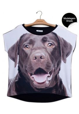 blusa-feminina-estampa-cachorro-labrador-usenatureza