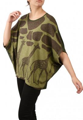 Blusa Bromélia Girafas