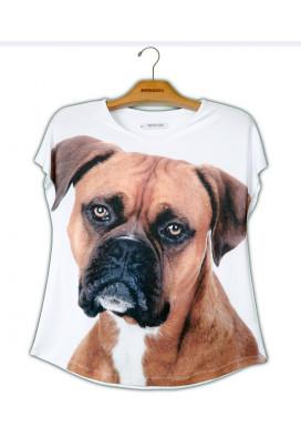 Camiseta Premium Evasê Boxer