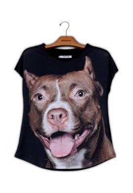 Camiseta Premium Evasê Pit Bull
