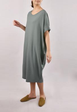 Vestido Amplo Agave Eucalipto