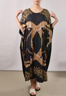 Kaftan Leopardo