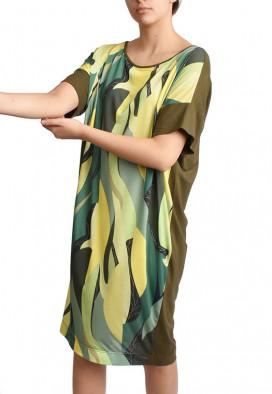 Vestido Folhas Green USENATUREZA