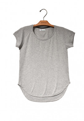 Camiseta Canelada Mescla