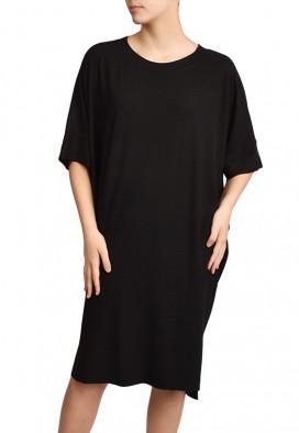 vestido Agave Preto Intenso simples meio ambiente USENATUREZA 2