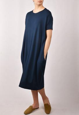 Vestido C/ Bolso Azul Marinho