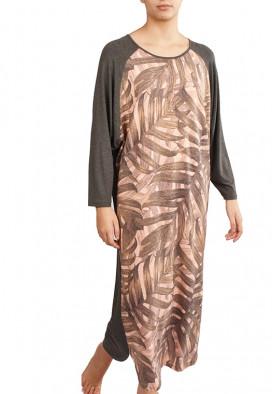 Vestido Raglã Bambu
