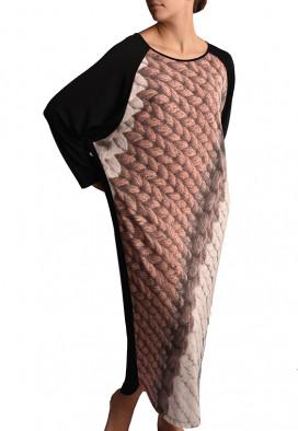 Vestido Raglã Tricot