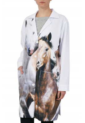 Uniforme Jaleco Cavalos