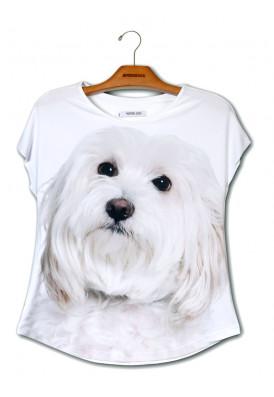 Camiseta Premium Evasê Maltês