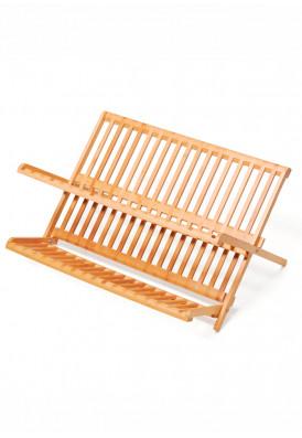 Escorredor de louça em bambu