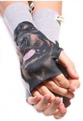 Luva Canelada Rottweiler