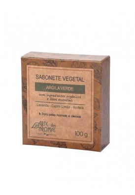 Sabonete Barra Argila Verde - 100g