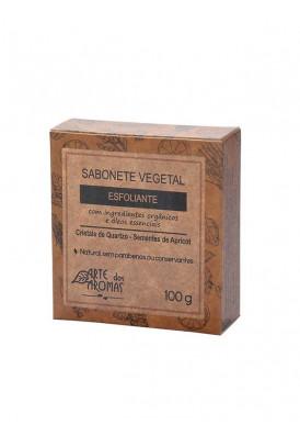 Sabonete Barra Esfoliante Cristais de Quartzo - 100g