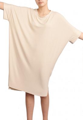 Vestido Punho Agave Gengibre