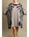 2 Kaftan Natureza Zebras liberdade generoso amplo USENATUREZA