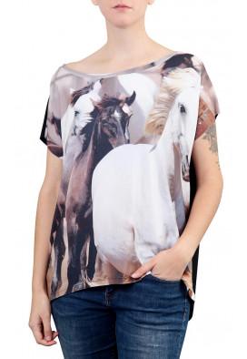 blusa-feminina-desenho-cavalos-selvagens-usenatureza