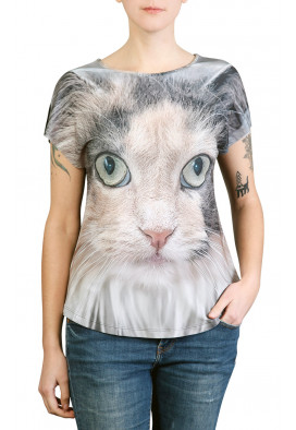 camiseta-estampada-gato-cinza