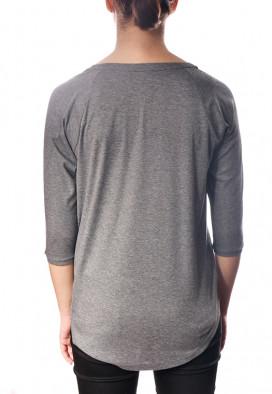 Camiseta de algodão estampa de gatinho