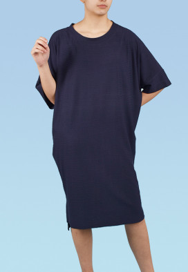 Vestido Punho Agave Azul Buquê USENATUREZA