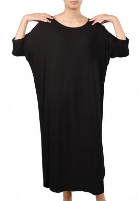 Vestido Midi Agave Negro Granada