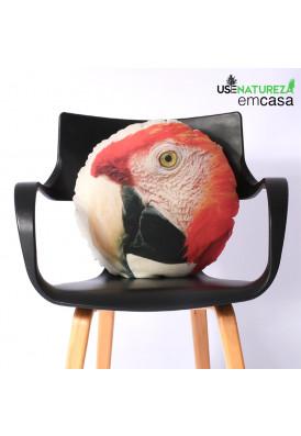 almofada-estampa-arara-vermelha-usenatureza