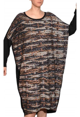 Kaftan Tricot-Shirt Sisal Wengué