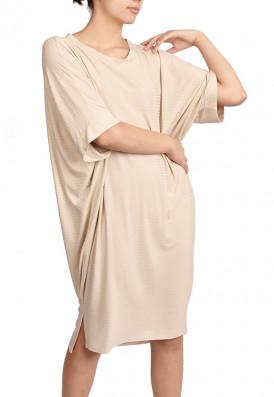 Vestido Punho Agave Gengibre harmonia confortwear USENATUREZA 1