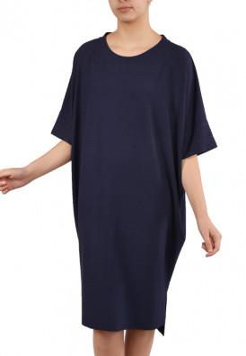 Vestido Punho Agave Azul Buquê