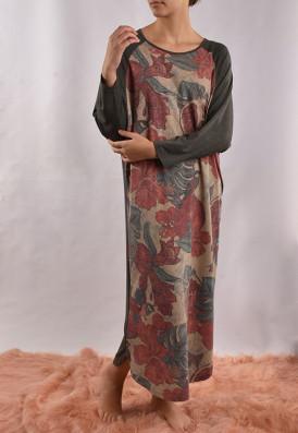 Vestido Raglã Romã